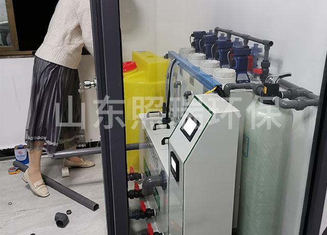 山东照瑞环保在临沂的实验室污水处理设备安装调试成功