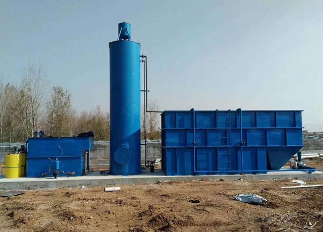 mbr污水处理一体化设备中的膜怎么清洗?
