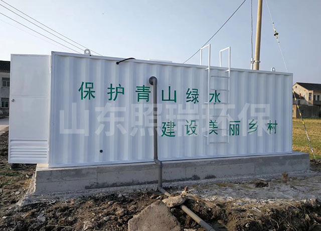 普遍用于生活污水处理的一体化污水处理设备
