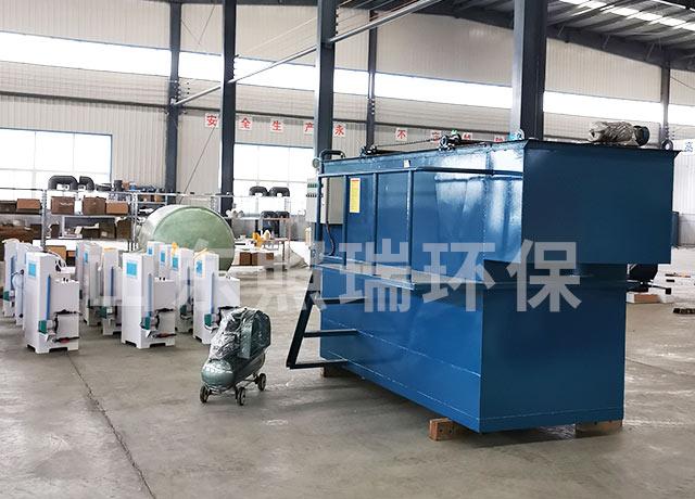 12月3日山东照瑞环保承接的用于养殖污水处理的气浮机加工生产完成