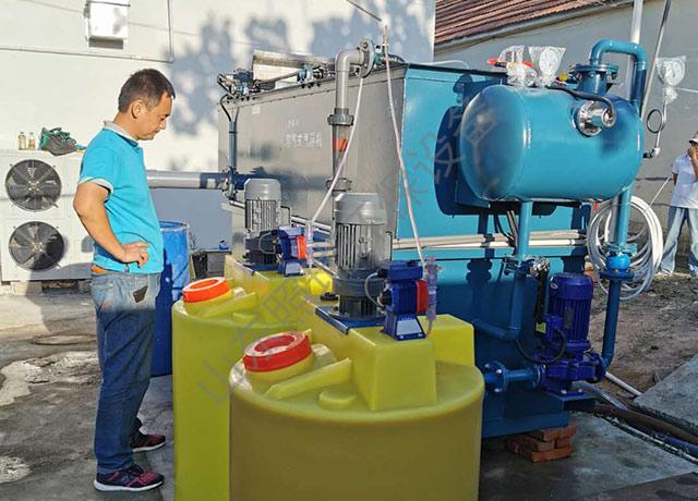 日照食品污水处理安装调试成功进入运营