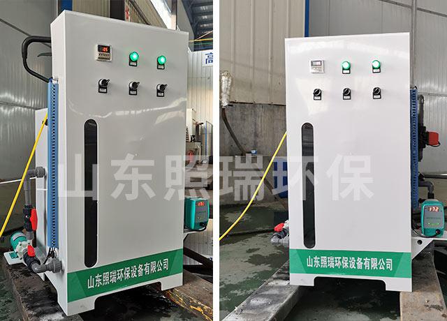 山东照瑞环保实验室污水处理设备12月9日生产成功