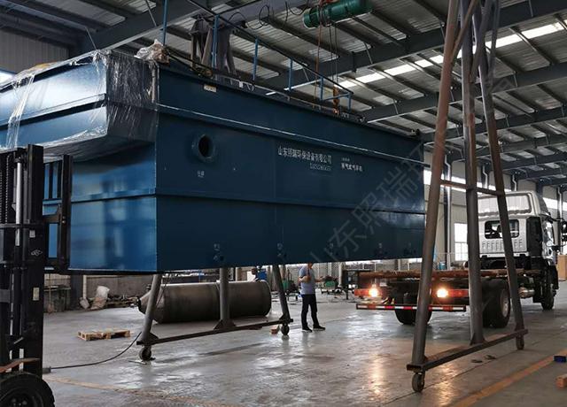 8月28日福建养殖污水处理设备生产完成发货