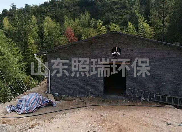 照瑞环保浙江省用于养殖污水处理的一体化污水处理设备现场勘察