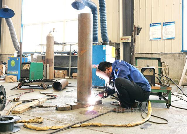 山西临汾某地疾控中心污水处理委托山东照瑞环保进行旧设备的更换