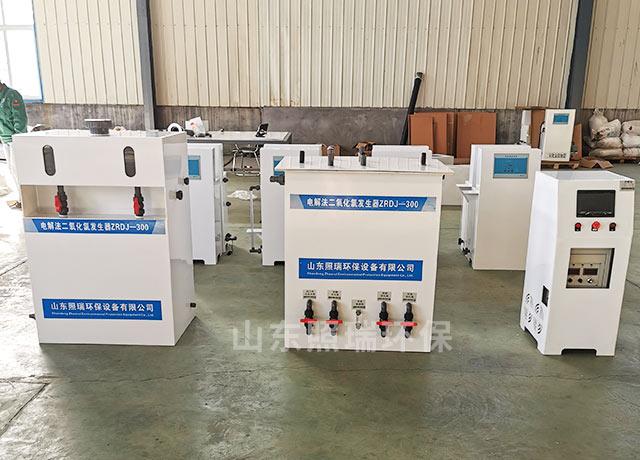 电解法二氧化氯发生器在医疗污水处理中的作用
