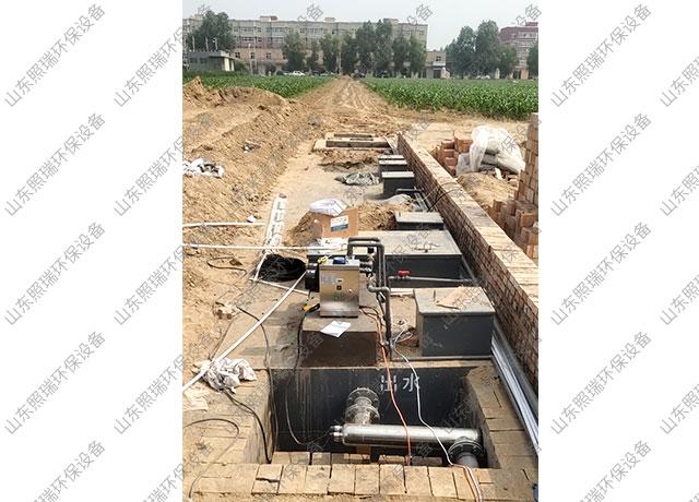 7月8日山东照瑞环保生活污水处理一体化污水处理设备发货