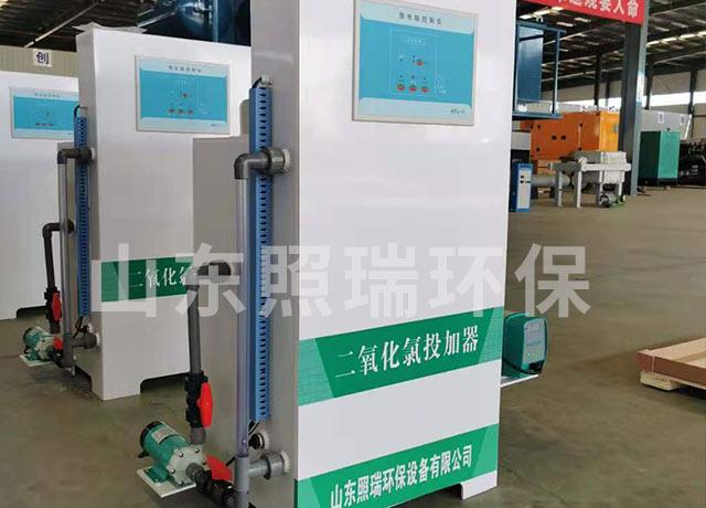 12月6日湖南省用于医院消毒的二氧化氯投加器设备发出
