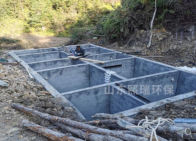 浙江温州照瑞环保承接得整套养殖污水处理方案施工完成