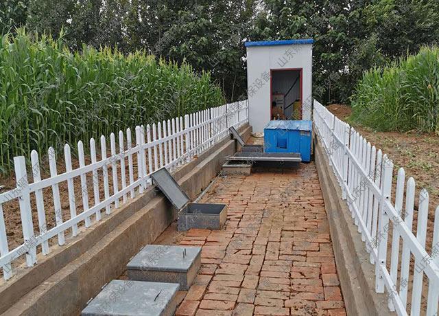 照瑞环保河南濮阳新农村污水处理项目正常售后检测8月5日完成