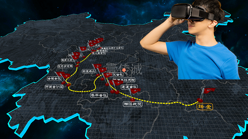 VR重走长征路