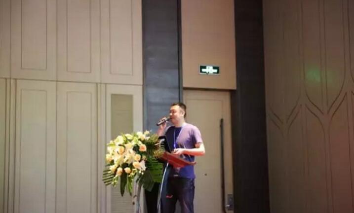 """王宏刚博士进行""""UHF RFID关键技术与应用""""报告"""