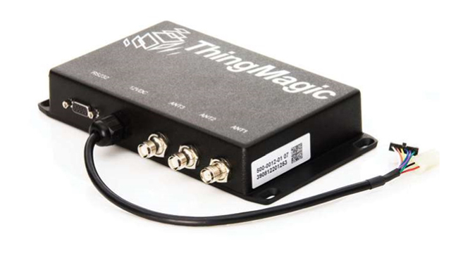 RFID读写器,RFID纸滑托盘,RFID叉车应用