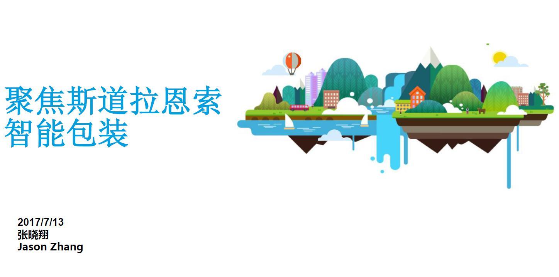 斯道拉恩索 投资管理(上海)有限公司业务发展经理张晓翔 演讲资料图