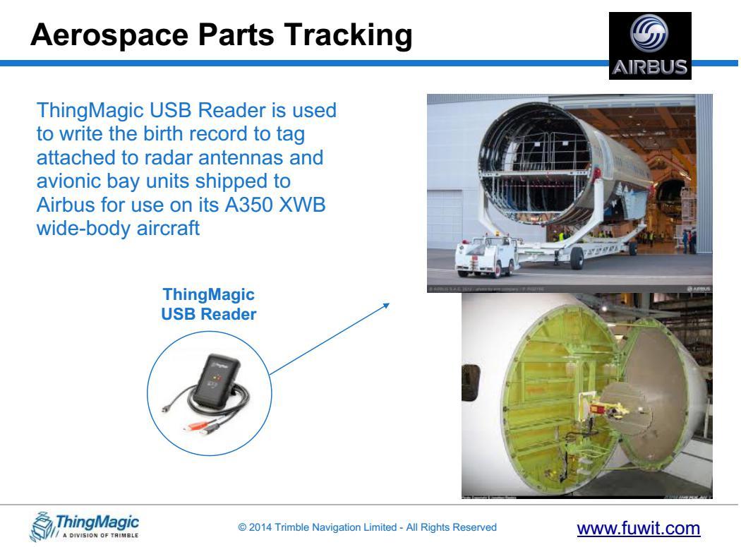 RFID航空航天解决方案