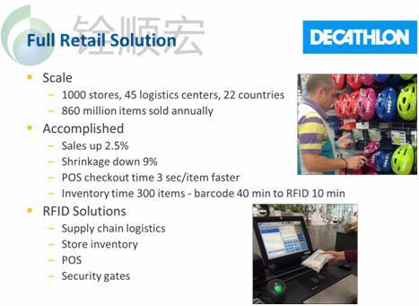 RFID服装供应链管理