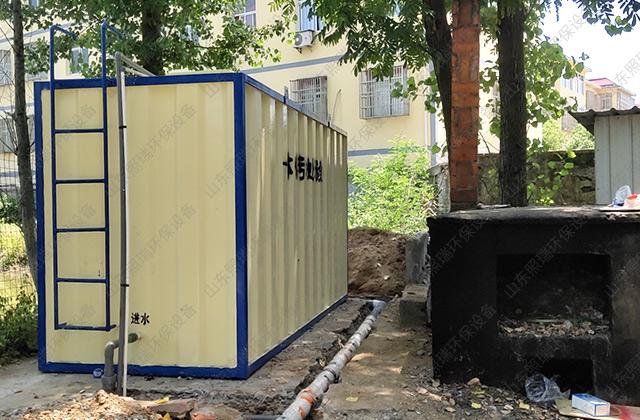 河南一体化污水处理设备接货山东照瑞环保