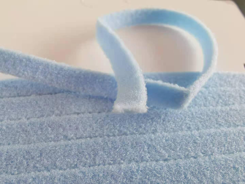 南昌弹力口罩耳绳,蓝色口罩耳绳