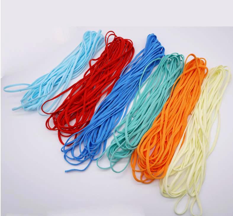 辰安彩色耳带绳,彩色口罩带